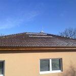 Nosná konštrukcia pre slnečné kolektory