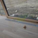 Podlahový konvektor v konečnej podobe