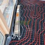 Podlahové vykurovanie a pripravený podlahový konvektor