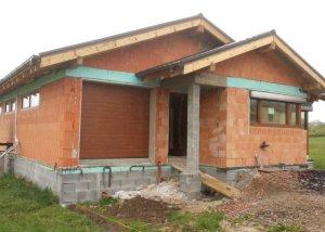 Rodinný dom v N. Kamenici vybavený tepelným čerpadlom
