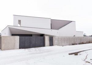 Moderný dom v Košiciach