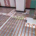 Montážne platne pre suchý systém podlahového vykurovania.