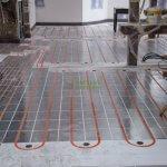 Podlahové vykurovanie pri rekonštrukciách.